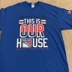 New York rangers SGA This is our house shirt xl